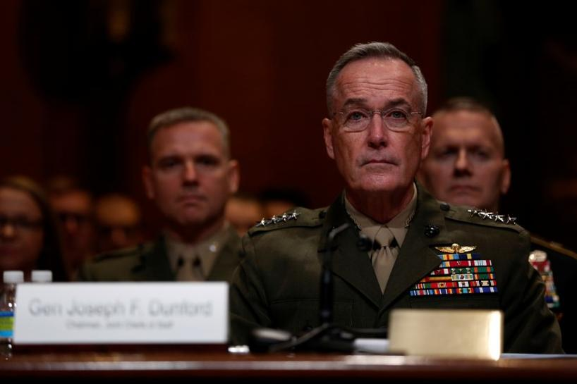 Trump opts to keep Pentagon's top officer for another term