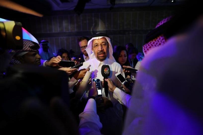 Saudi energy minister says OPEC oil output cut helping balance market