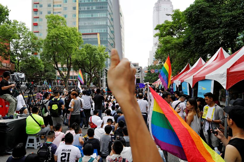 Taiwan court rules in favor of same-sex marriage, first in Asia
