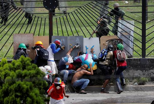 Anti-Maduro protests rage in Venezuela
