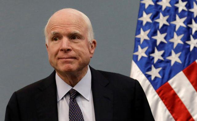 'No more woe is me': Senator McCain vows quick return to Washington