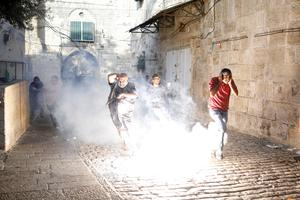 Scuffles as Jerusalem holy site reopens