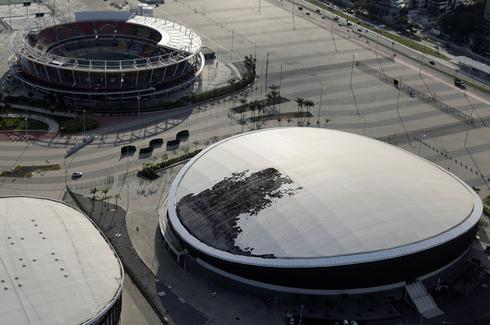 Brazil's Olympic venues today