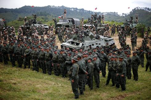 Venezuela military's show of strength