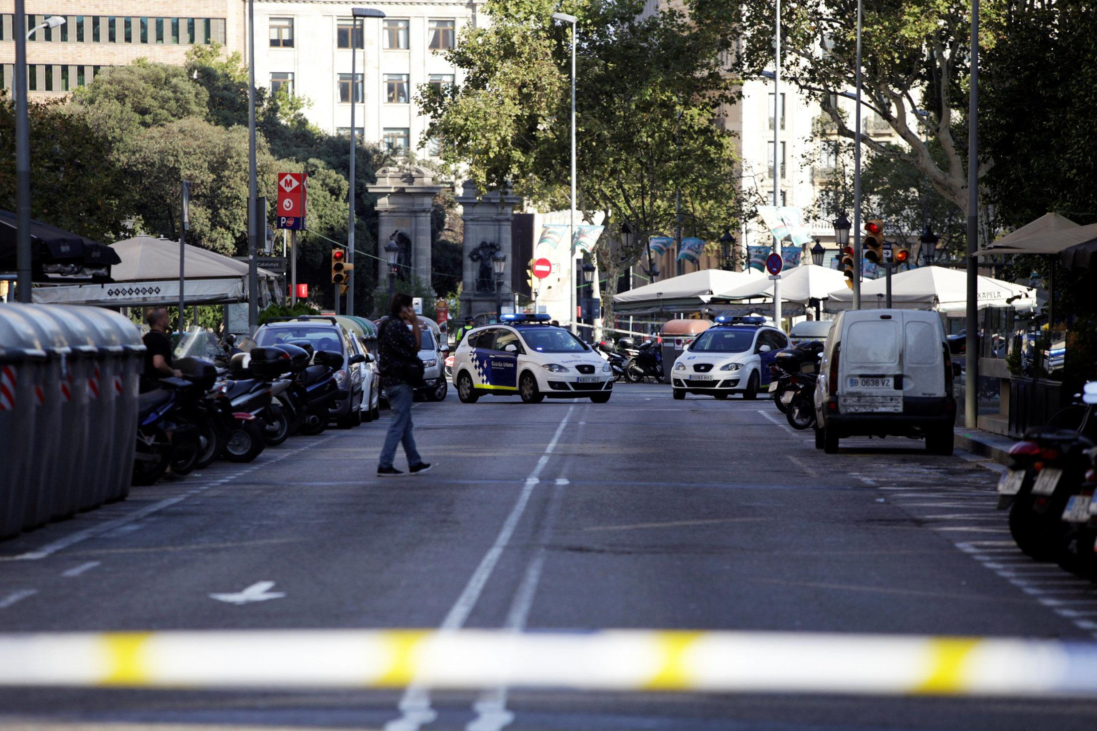 Two people arrested, 80 injured after Barcelona van attack: Catalan head