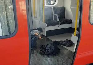 Blast in London underground