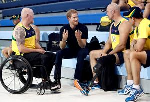 Prince Harry opens Invictus Games