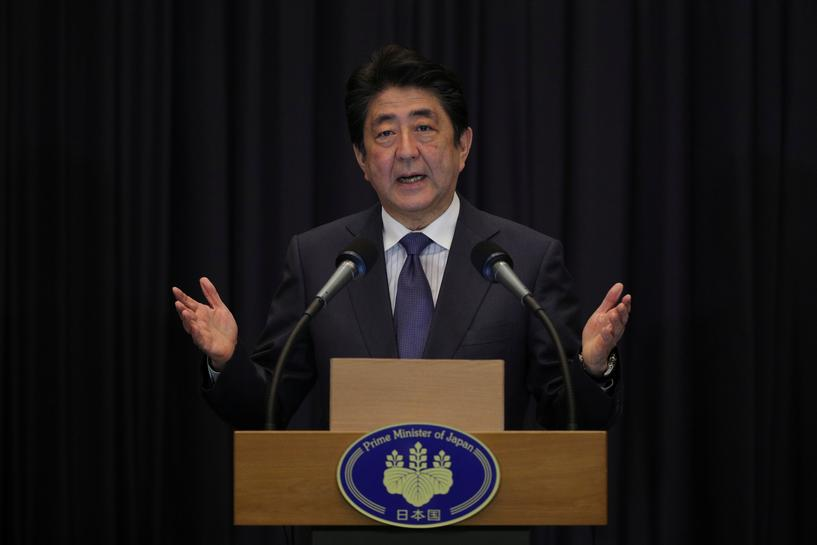 Japan's PM says N.Korea still developing missiles despite launch pause