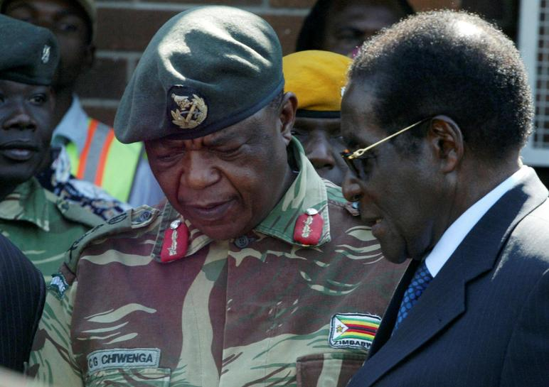 Tanks seen heading toward Zimbabwe capital: witnesses