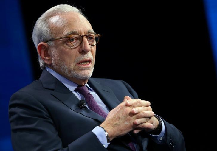 Nelson Peltz founding partner of Trian Fund Management LP. speak at the WSJD Live conference in Laguna Beach, California October 25, 2016.  Mike Blake