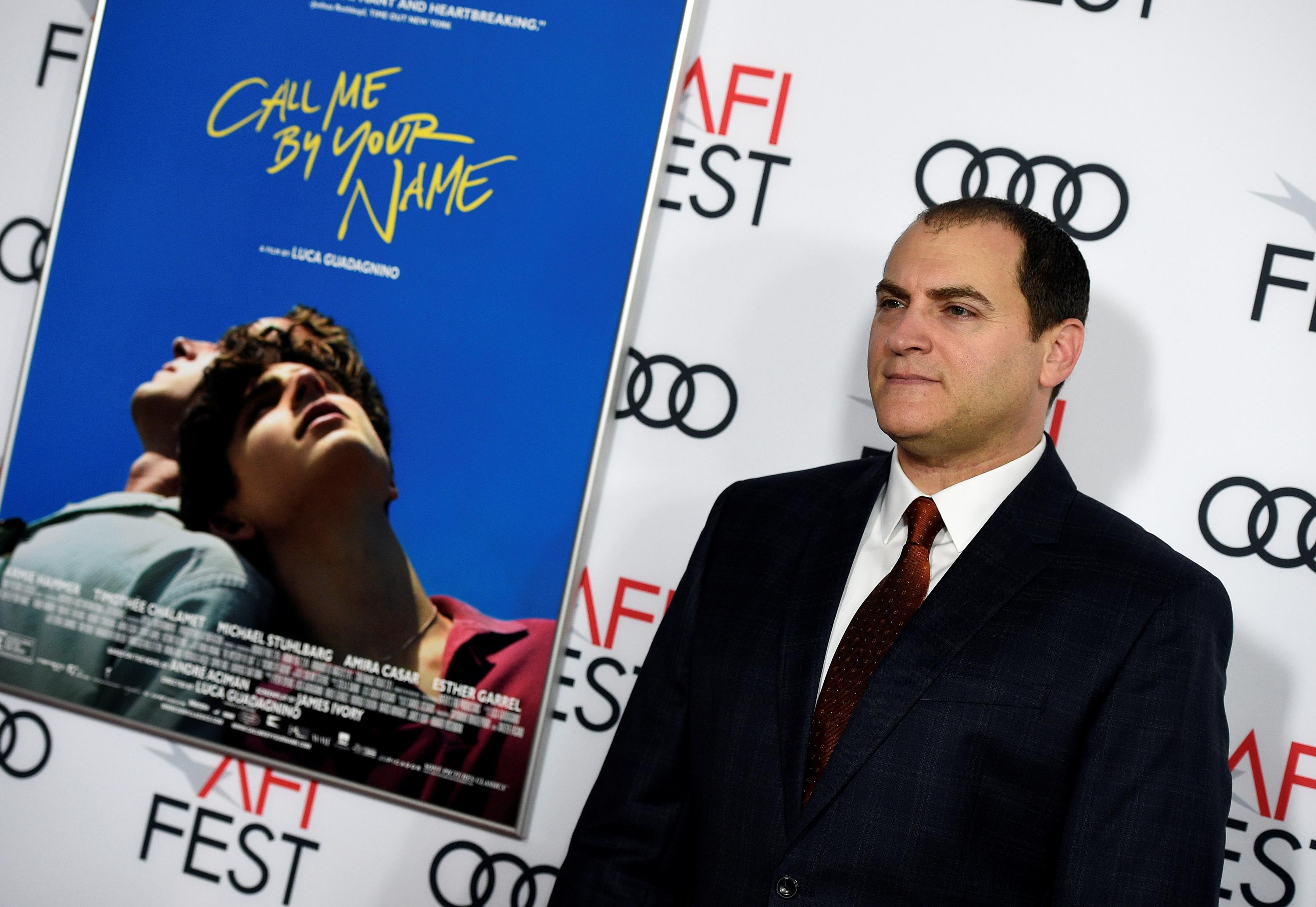 "Cast member Michael Stuhlbarg attends the premiere of ""Call Me By Your Name"" during AFI Fest 2017 in Los Angeles, U.S., November 10, 2017.  Kevork Djansezian"