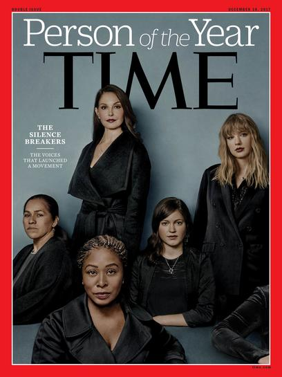 Time magazine names #MeToo 'silence breakers' as person of the year