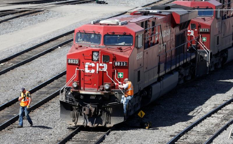 CP Rail weighs strategic deals to boost crude-by-rail | Reuters