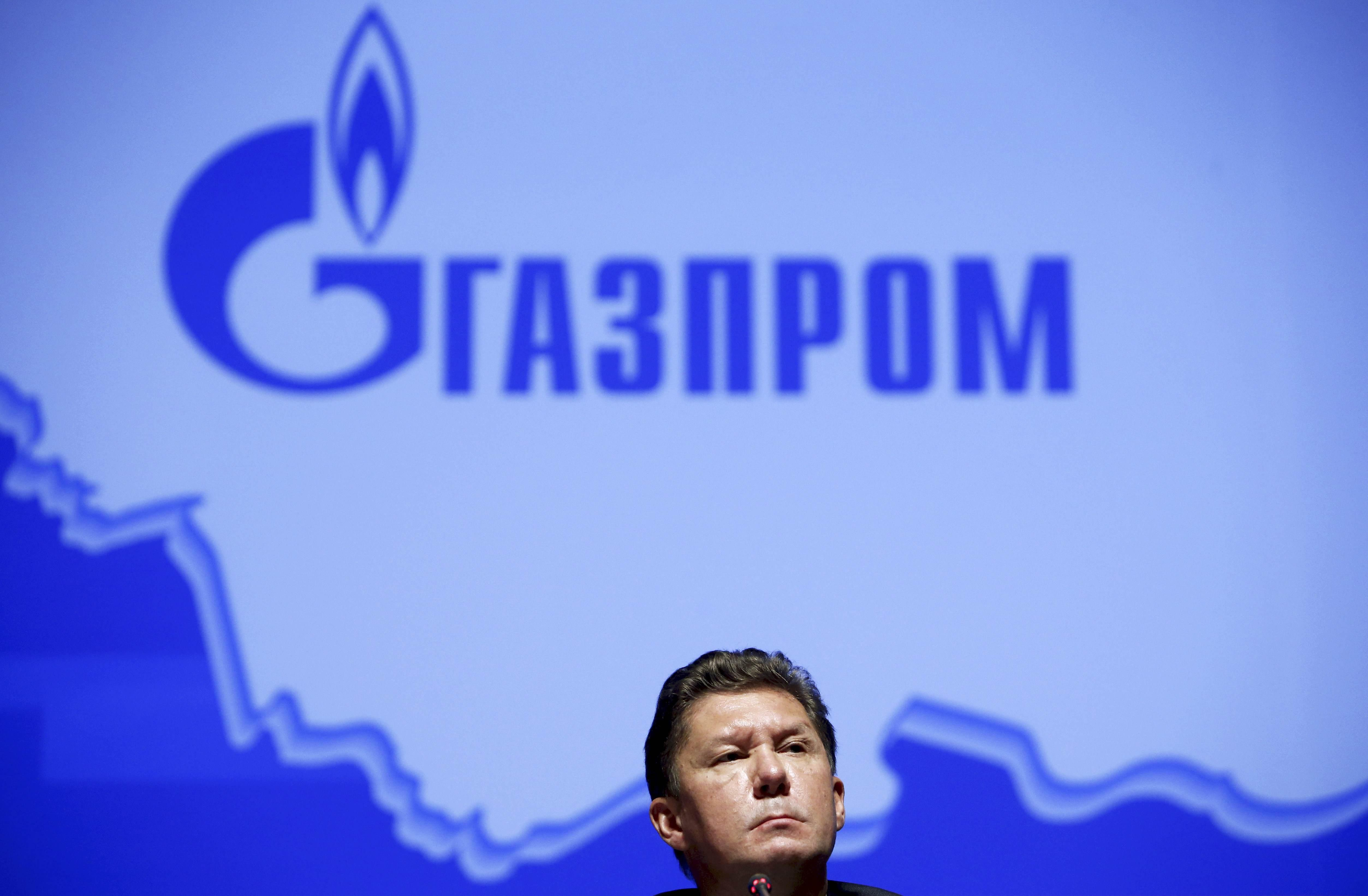 Alexei Miller, chief executive of Russia's top natural gas producer, Gazprom, attends a news conference after an annual general shareholders meeting of the company in Moscow, Russia June 26, 2015. Sergei Karpukhin
