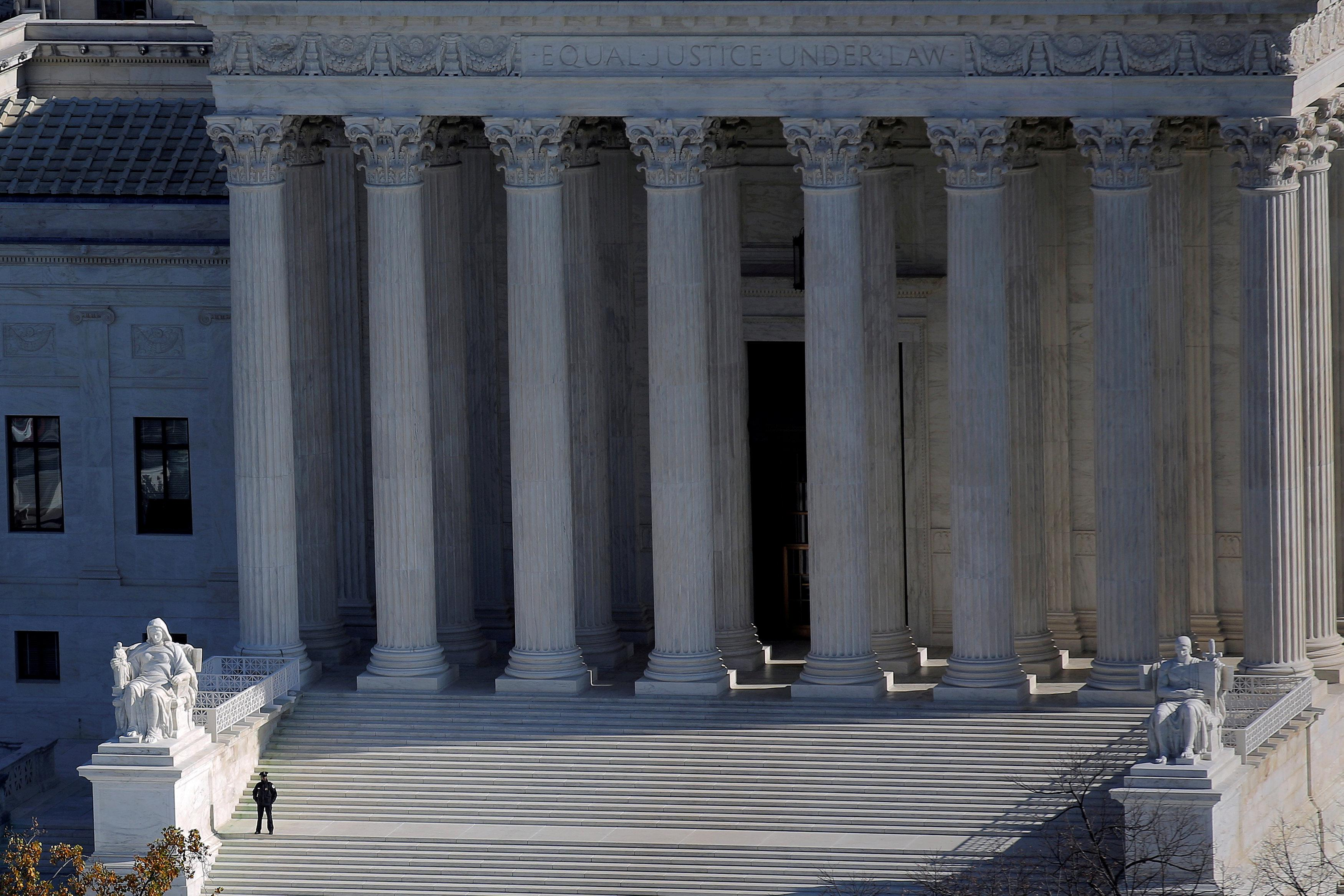 The U.S. Supreme Court building is pictured in Washington, DC, U.S., November 15, 2016. Carlos Barria