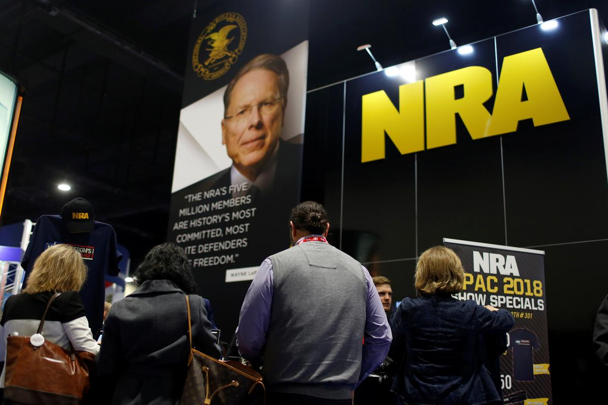 Some U.S.companies cut ties with NRA under mounting pressure