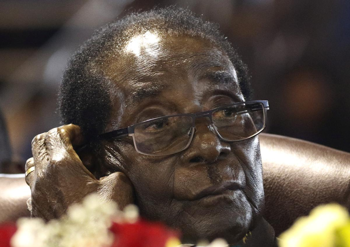 Zimbabwe's Mugabe says never thought Mnangagwa would turn against him