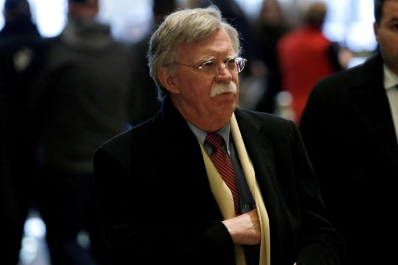 Former U.S. Ambassador to the United Nations John Bolton arrives for a meeting with U.S. President-elect Donald Trump at Trump Tower in New York, U.S., December 2, 2016.   Mike Segar