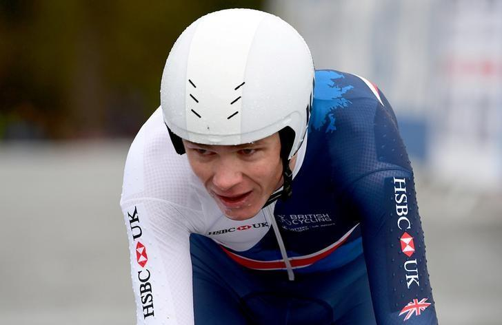 Cycling - UCI Road World Championships - Men Elite Individual Time Trial - Bergen, Norway - September 20, 2017 - Chris Froome of Britain competes. NTB Scanpix/Marit Hommedal via