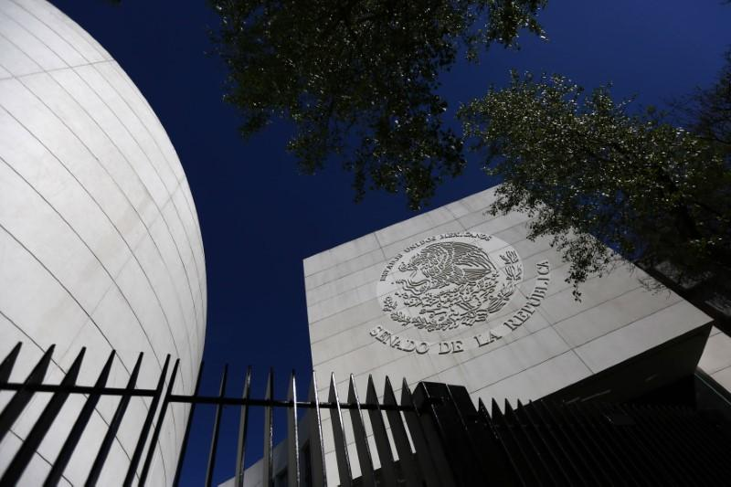 The Senate of the Republic building is seen in Mexico City January 28, 2015. Edgard Garrido