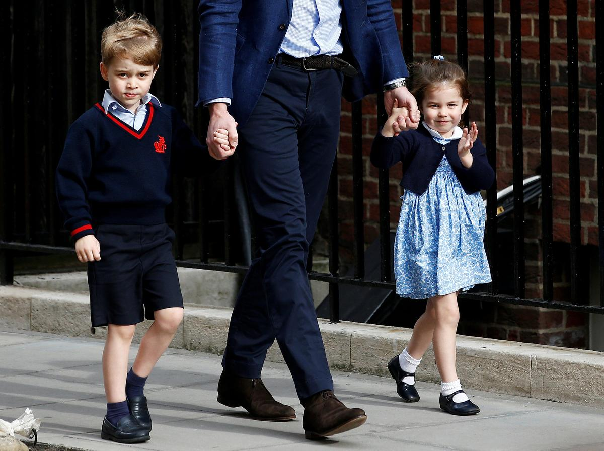 Prince William's children get starring roles at brother's wedding