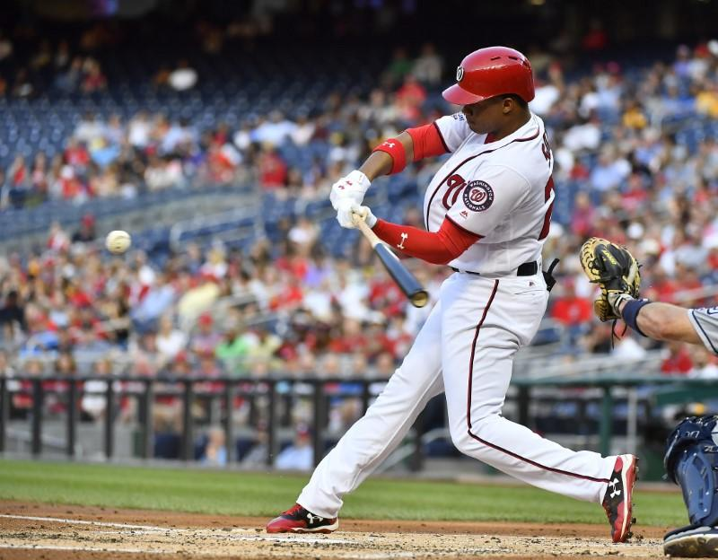 Major League Baseball roundup: Soto cracks first home run in Nationals rout