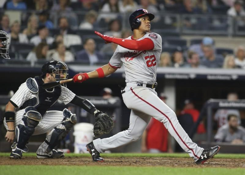 Major League Baseball roundup: Nats rookie homers twice in Bronx