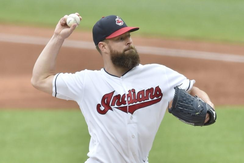 Major League Baseball roundup: Kluber notches 11th win in rout