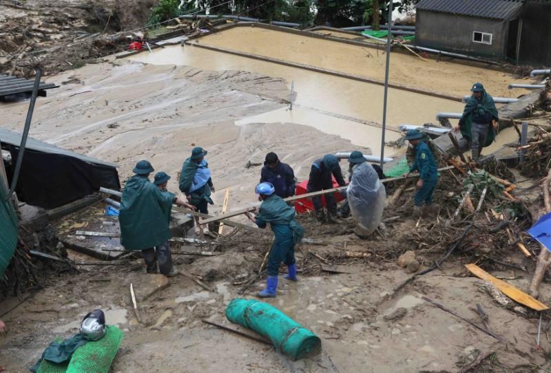 Vietnam's flood death toll rises to 15, more rains forecast