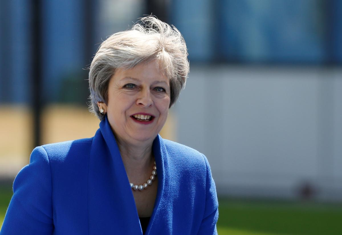 May says Brexit plan delivers 'people's vote'