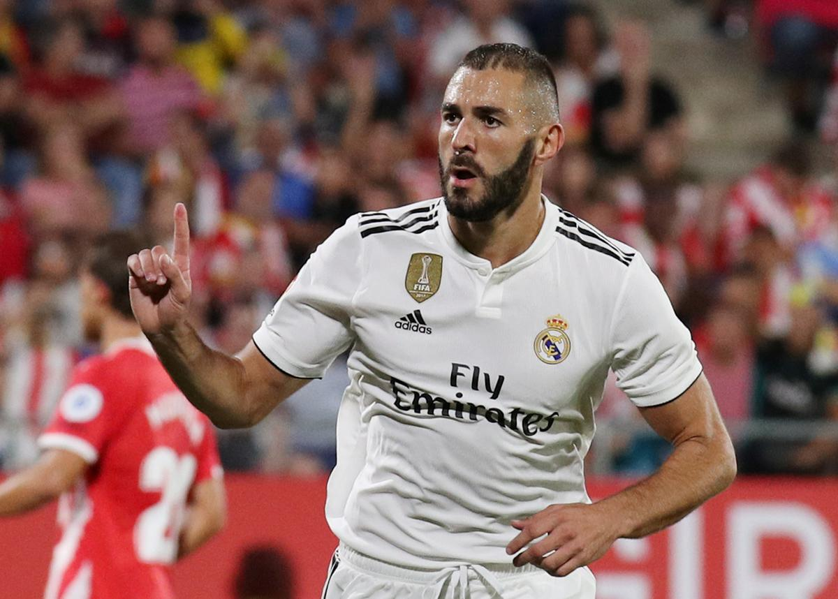 Soccer: Real maintain perfect start with Benzema's double
