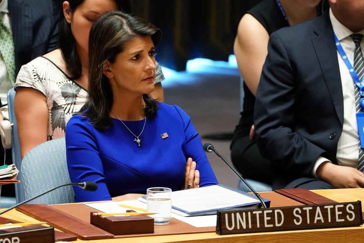 Haley says U.S. Rohingya report 'consistent' with U.N. findings