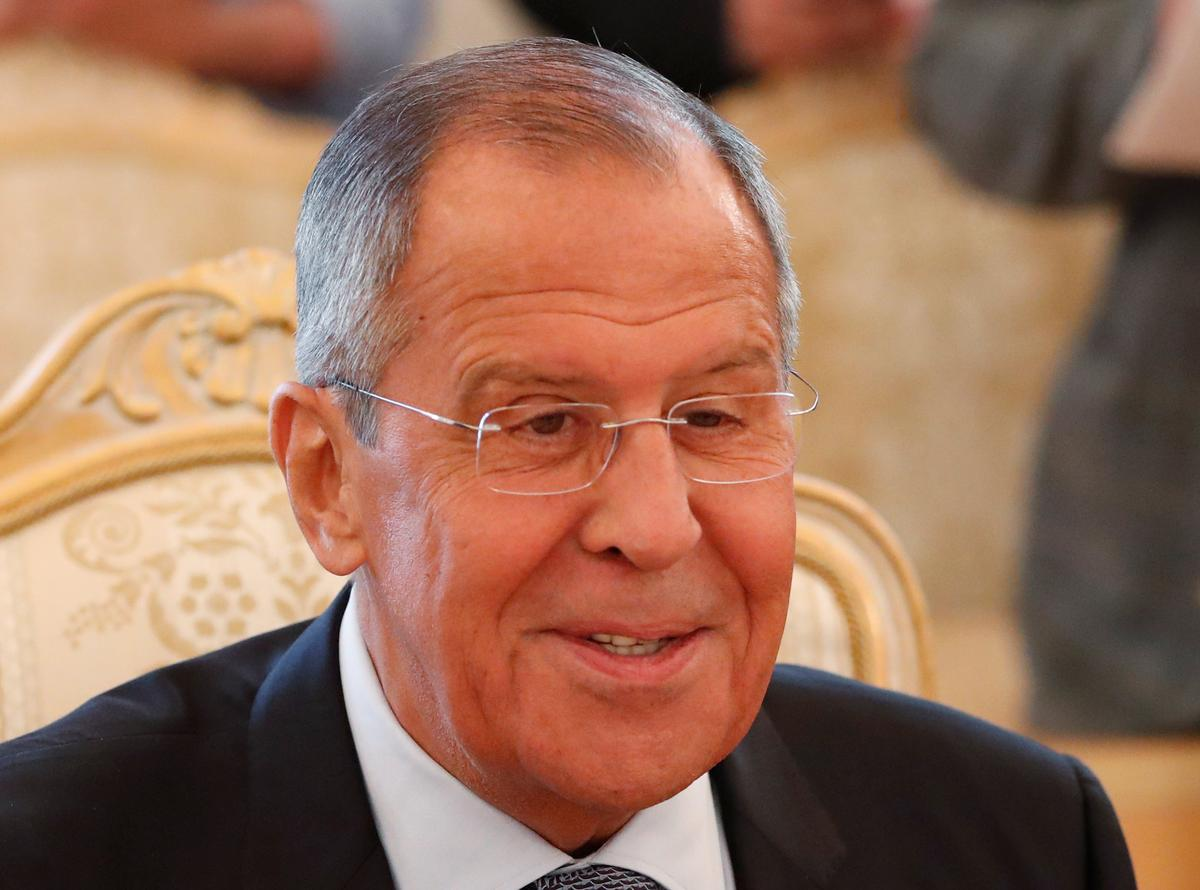 Russia's Lavrov says contacts with U.S. on Syria's Idlib ongoing