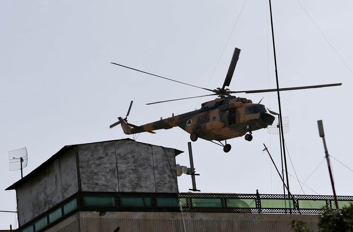 Overuse, maintenance problems strain Afghan army helicopter fleet