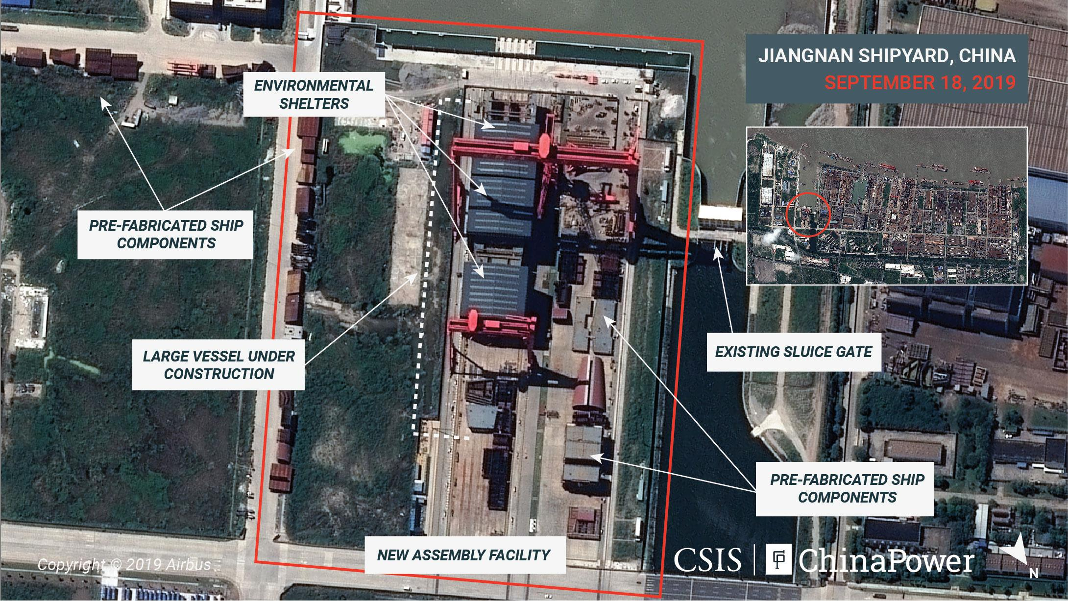 Exclusive: Satellite images reveal China's aircraft carrier 'factory,' analysts say 1