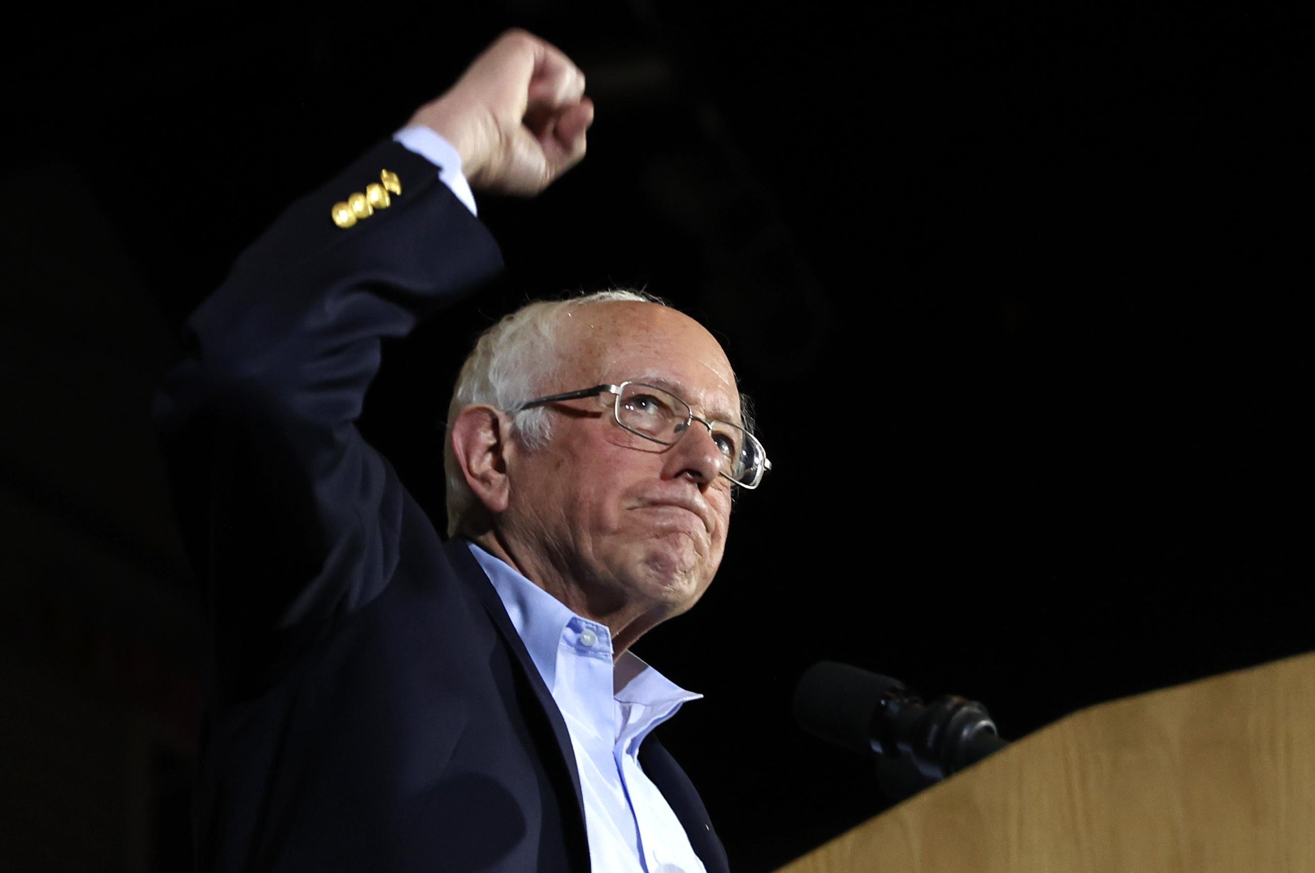 Sanders' big Nevada win narrows rivals' path to Democratic nomination