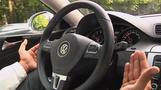 Self-driving car takes to the road