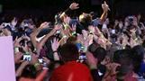 Springsteen still crowd surfs at 62