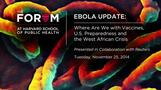 Ebola Update: The Situation in West Africa