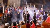 Ash Wednesday in Mexico City