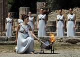 リオ五輪の聖火リレー始まる、ギリシャで採火(21日)