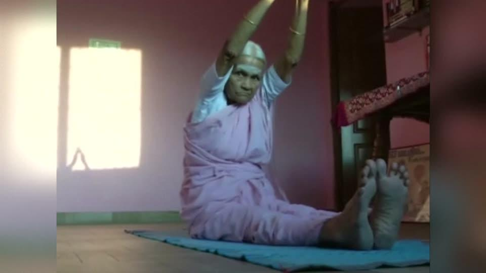98-year-old Indian granny inspires youngsters to take up
