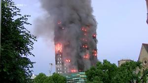 London tower blaze started in fridge-freezer