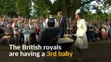 Britain's Will & Kate expect third royal baby