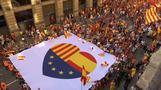 10日にも独立を宣言か、カタルーニャ州に圧力強まる(字幕・9日)