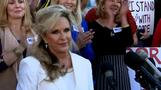 'He will not step down': Moore's wife