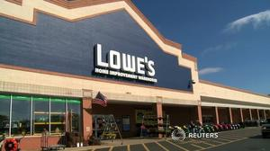 Hurricanes drive demand at Lowe's