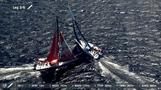 Dongfeng sail to victory at in-port race in Volvo Ocean Race