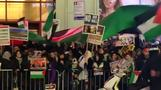Hundreds protest Trump's Jerusalem policy in New York