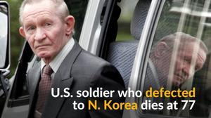 U.S. soldier who defected to North Korea dies at 77